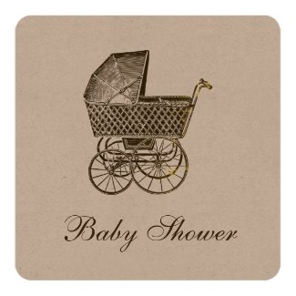 KRAFT VINTAGE BABY PRAM | BABY SHOWER