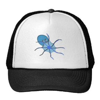 Krake kraken octopus mesh hat