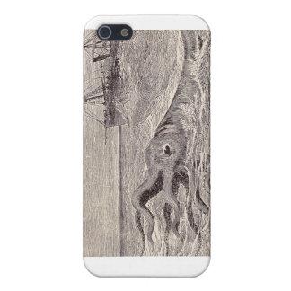 Kraken 4 - Kraken off the Port Bow iPhone4 iPhone 5 Cases