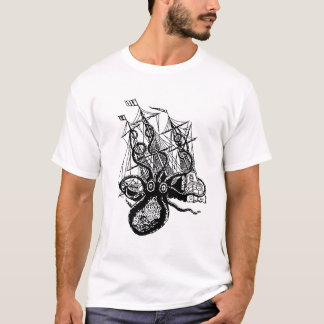 Kraken Attack! Giant Octopus attack T-Shirt