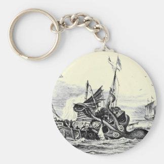 Kraken Attack Keychain