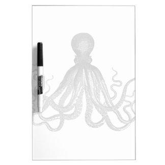 Kraken - Black Giant Octopus / Cthulu Dry Erase Board