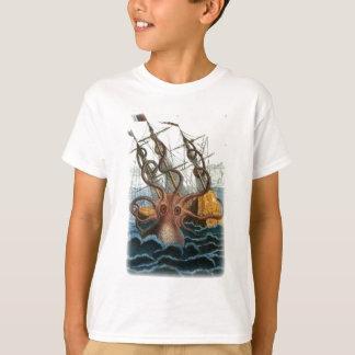 Kraken by Pierre Denys de Montfort, 1801 T-Shirt