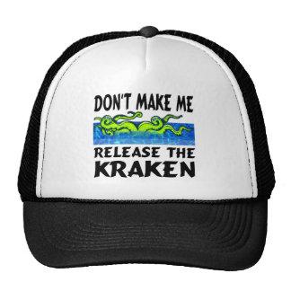 Kraken release the kraken cap