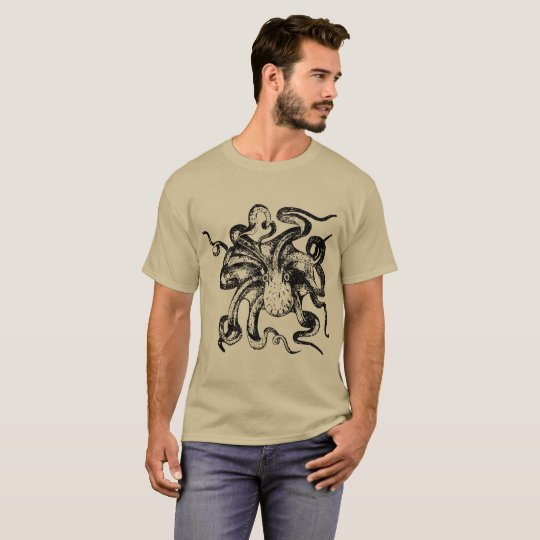 Kraken steampunk designs T-Shirt