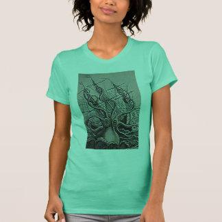 KRAKEN vintage print T-Shirt