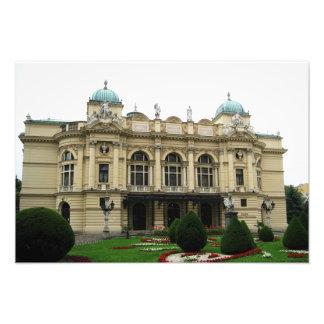 Kraków Juliusz Słowacki Theatre day Photo Art