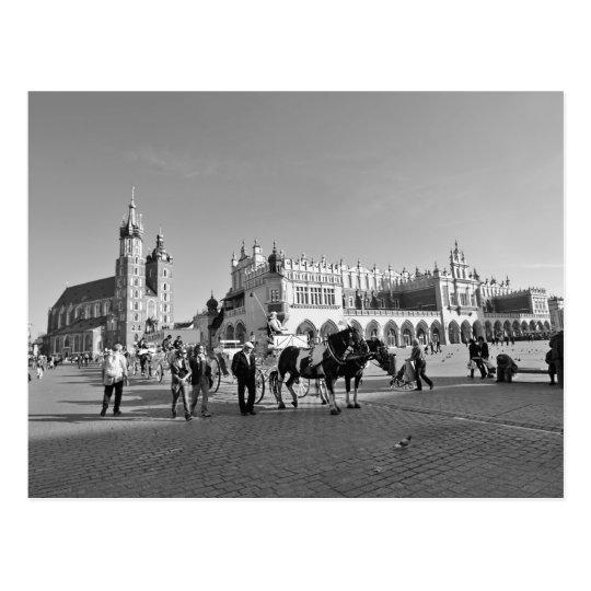 Krakow, Old Town, Poland Postcard