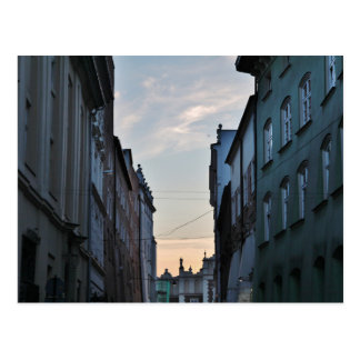 Krakow Old Town Postcard