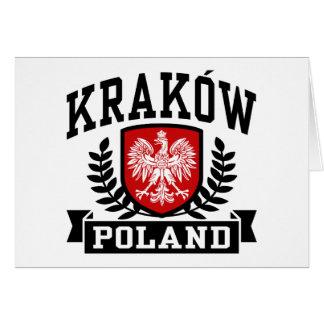 Krakow Poland Card