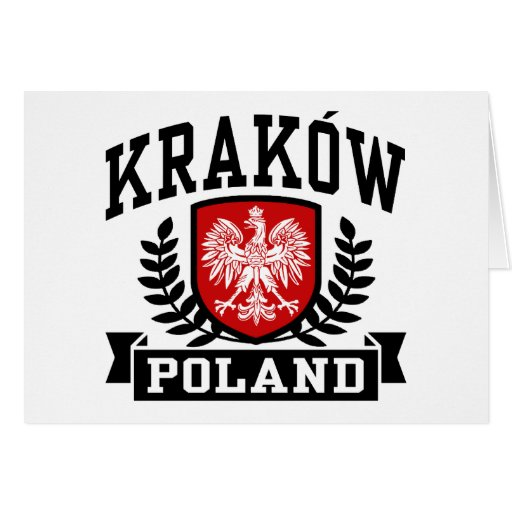 Krakow Poland Greeting Cards