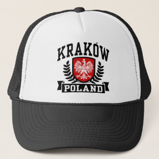 Krakow Poland Trucker Hat