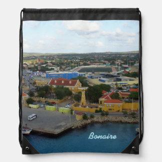 Kralendijk Harborfront Drawstring Bag