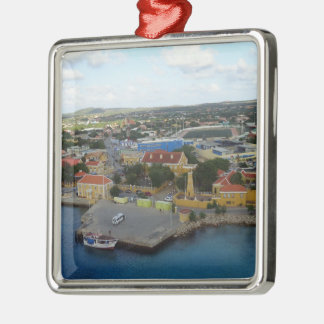 Kralendijk Harborfront Christmas Ornament