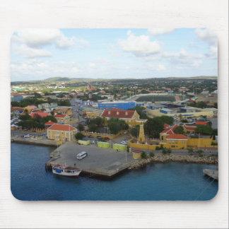 Kralendijk Harborfront Mouse Pad