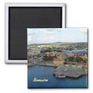Kralendijk Harborfront Square Magnet