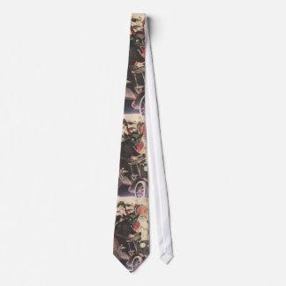 Krampus and Saint Nick Holiday Tie