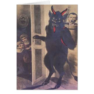 Krampus Gathering Family Card