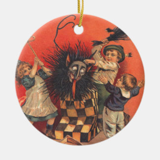 Krampus Jack-In-A-Box Christmas Ornament