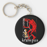 Krampus Keychain