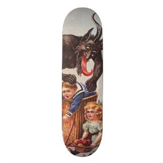 Krampus Kidnapping Children 21.6 Cm Skateboard Deck