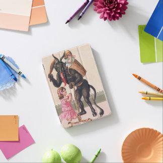 Krampus Kidnaps Girls Vintage Holiday Christmas iPad Mini Cover