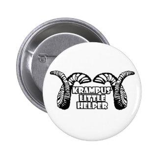 Krampus' Little Helper 6 Cm Round Badge
