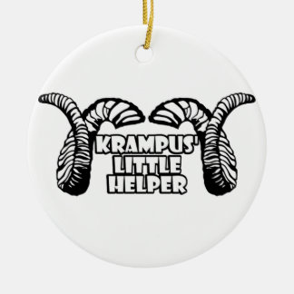 Krampus' Little Helper Christmas Ornament