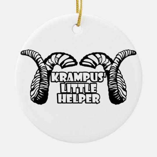 Krampus' Little Helper Christmas Ornament