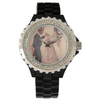 Krampus Proposing To Woman Watch