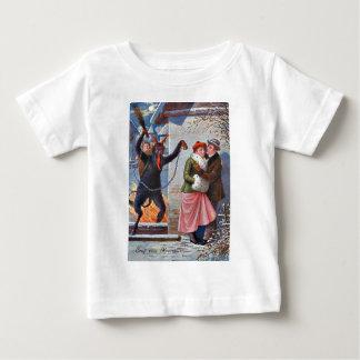 Krampus Punishing Bad Adults Baby T-Shirt