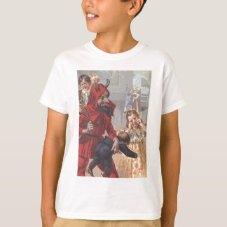 Krampus Spanking Child T-Shirt