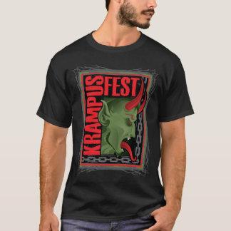 Krampus Square (Black T) T-Shirt