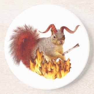 Krampus Squirrel Coaster