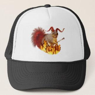 Krampus Squirrel Hat
