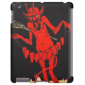 Krampus Switch Hearts On A String iPad Case