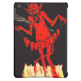 Krampus Switch Hearts On A String iPad Air Cover