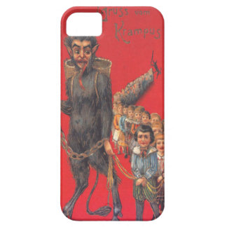 Krampus With Bad Children Barely There iPhone 5 Case