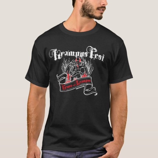 Krampus Woodcut (Dark Tees) T-Shirt