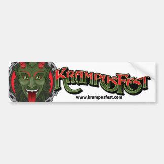 KrampusFest Bumper Sticker