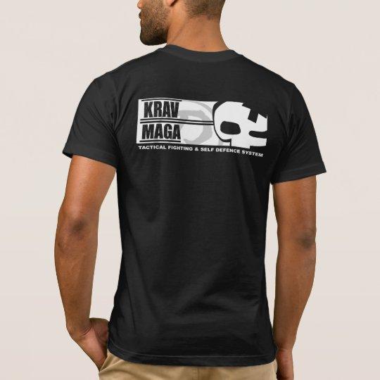 Krav Maga: Big Skull Back T-Shirt