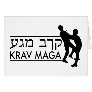 Krav Maga Greeting Card