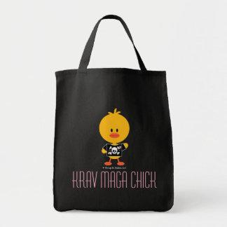 Krav Maga Chick Canvas Bags