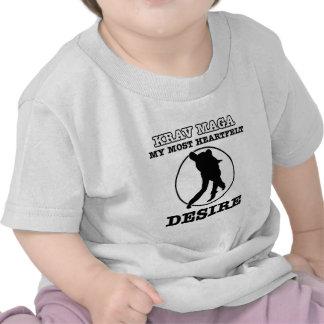krav maga design t-shirt