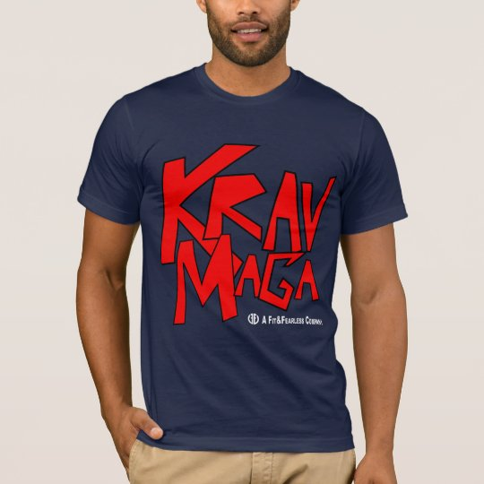 Krav Maga - Fit and Fearless T-Shirt