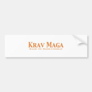 Krav Maga Gifts Bumper Sticker