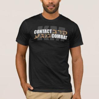 Krav Maga Hebrew Camo T-Shirt