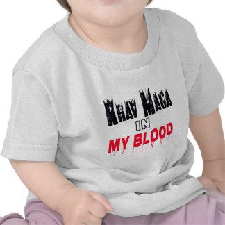 Krav Maga In My Blood T-shirts
