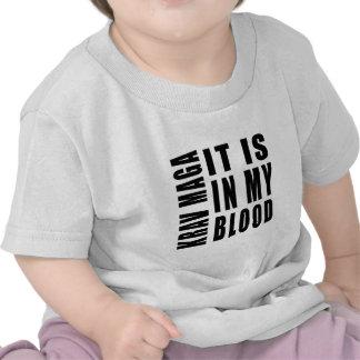 Krav Maga It Is In My Blood T Shirts