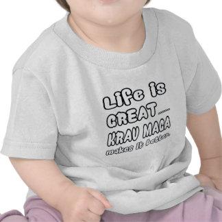 Krav Maga Makes It Better Shirts